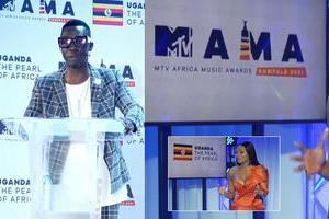 Douglas Lwanga was the host
