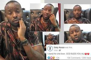 Eddy Kenzo in Ivory Coast