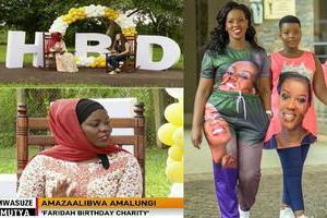Faridah celebrates her birthday in style