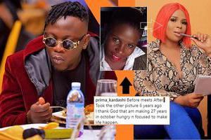 Geosteady and his ex lover Prima Kadarshi