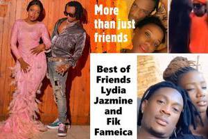 Lydia Jazmine and Fik Fameica