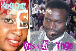 Pastor Yiga and Maggie Kayima