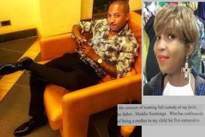 Meddie Ssentongo and his baby woes