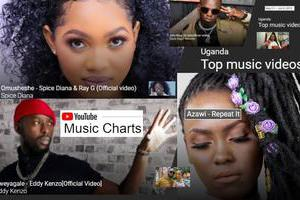 Top music videos on YouTube
