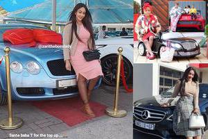 Diamond Platnumz buys for Zari a Bentley