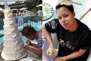 Zuena and her cake business
