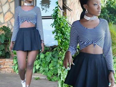 Lydia Jazmine in short outfits