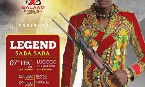 Chameleone Legend Saba Saba concert