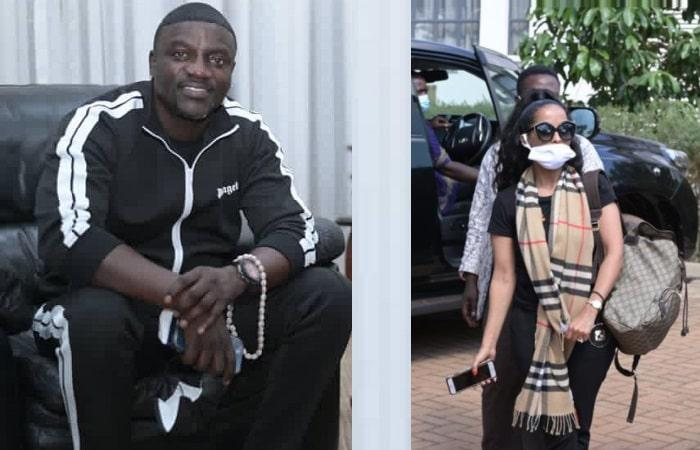 Akon and wife had Juma prayers in Kampala