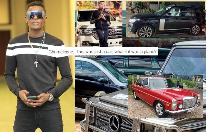 Chameleone and his rides