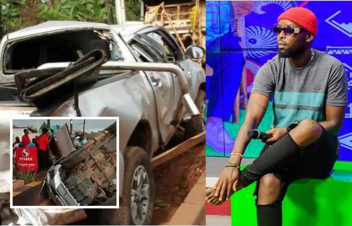 Eddy Kenzo safe after accident