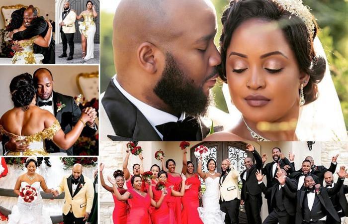 Princess Komuntale wedding in the US