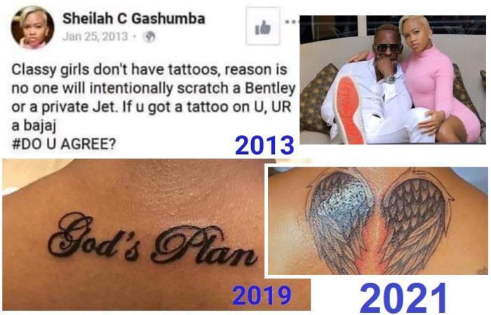 Sheila Gashumba's tweet