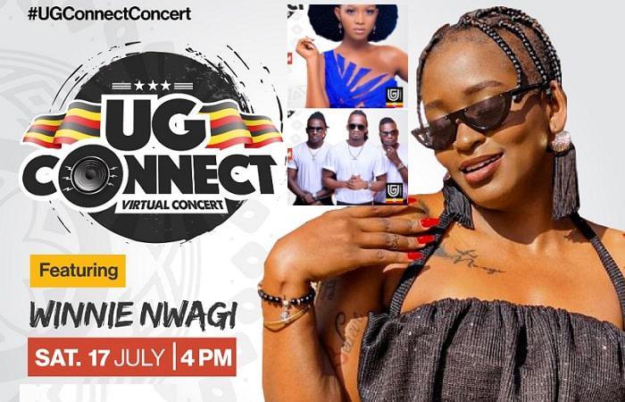 UG connect online concert kicks off