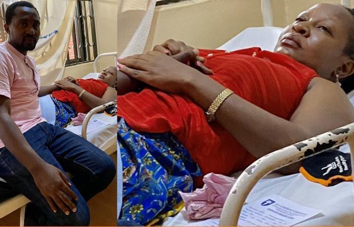 Veronica Namanda survives ceiling collapse