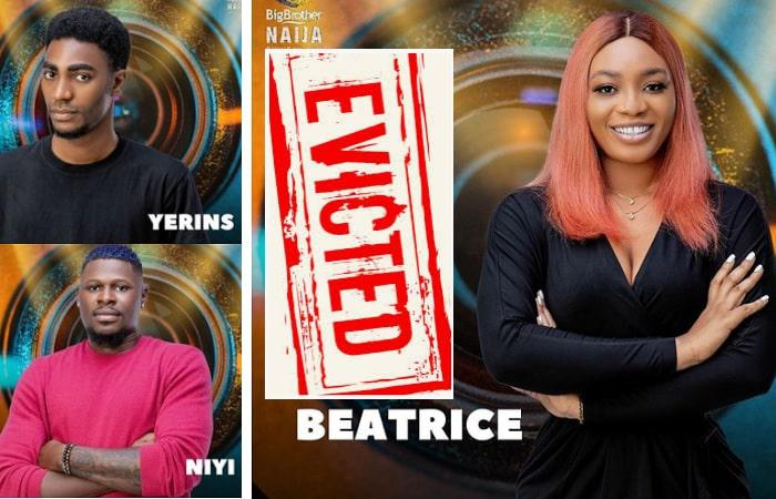 Evicted housemates...