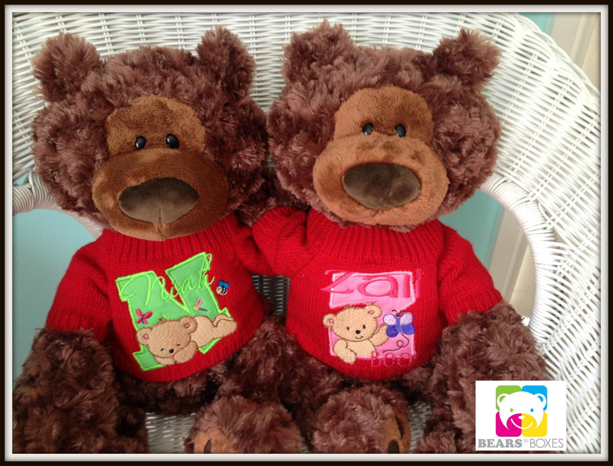 Unique Childrens Gifts - Personalised Teddy Bears