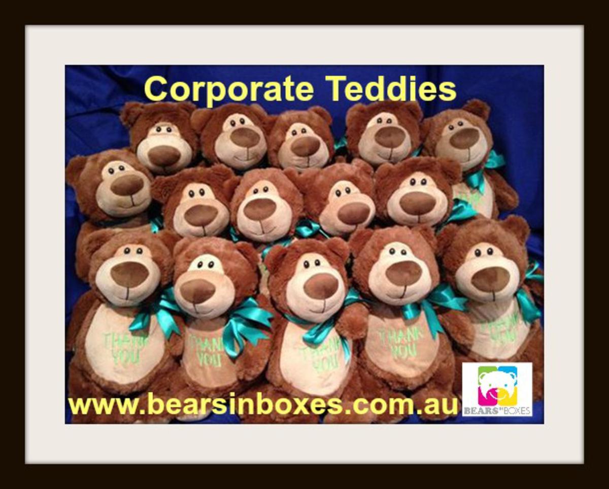 Corporate Personalised Teddy Bears