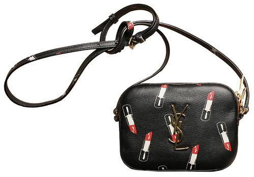 Yves Saint Laurent Leather Small Lipstick bag