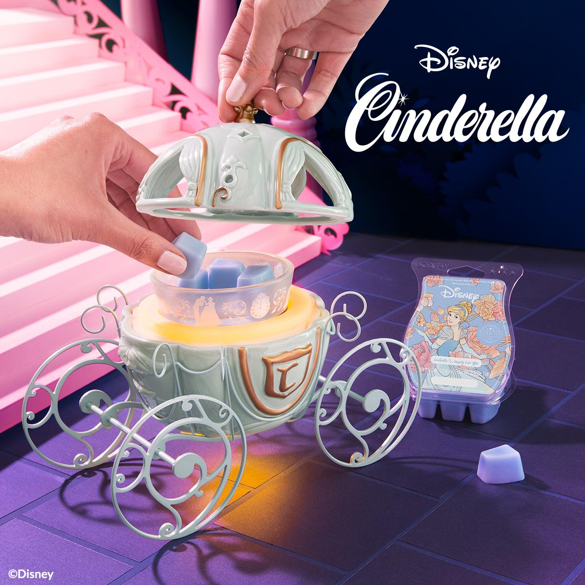 Disney Cinderella Carriage - Scentsy Warmer