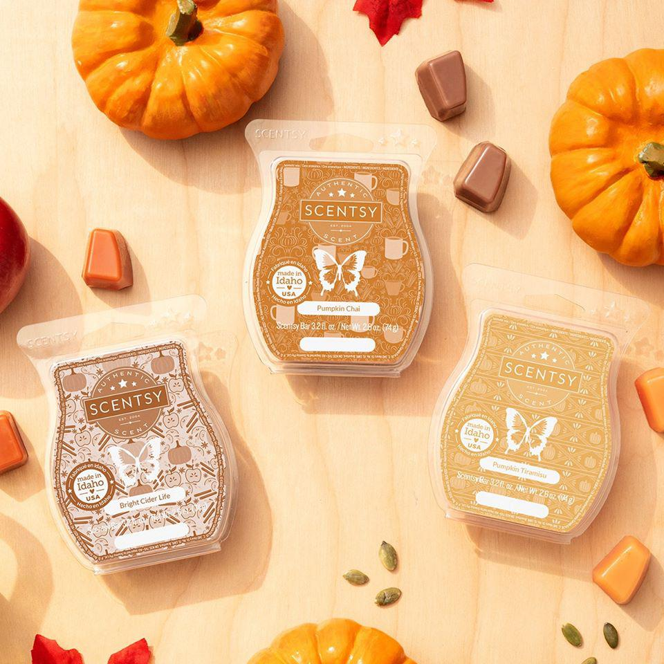 Scentsy Harvest Line is Here