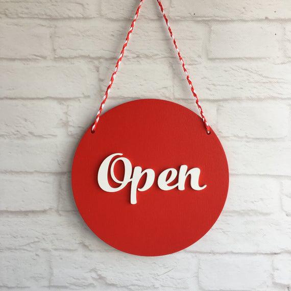 We are OPEN  :-)