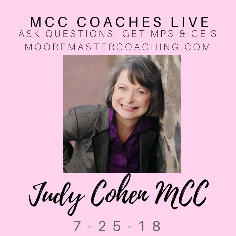 Judith Cohen CPCC, MCC