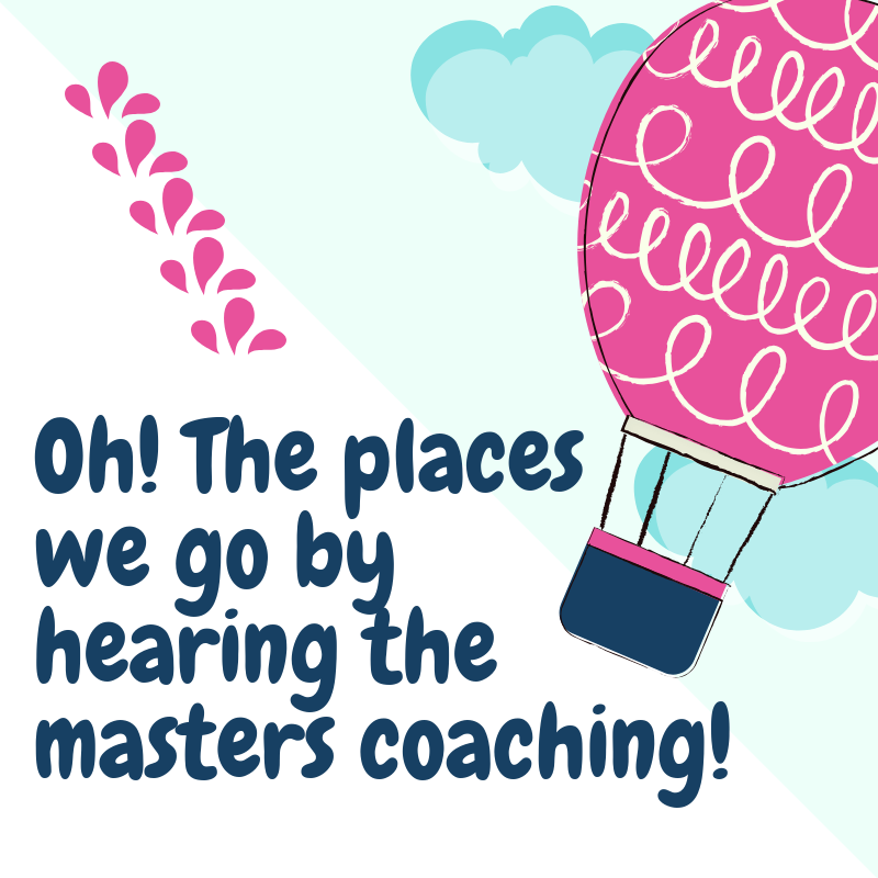 The Places We Go by Hearing the Masters Coaching!