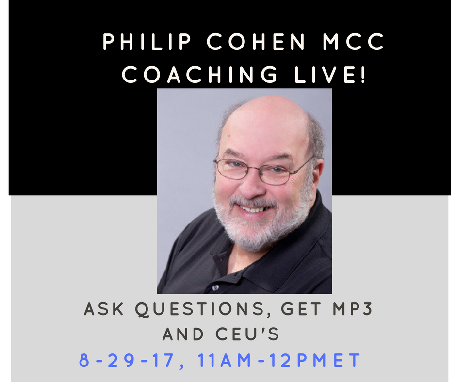 Philip Cohen MCC Coaches Live!