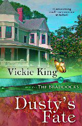 Vickie King, author of the Braddocks Series