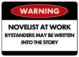 Caution - Writer at Work