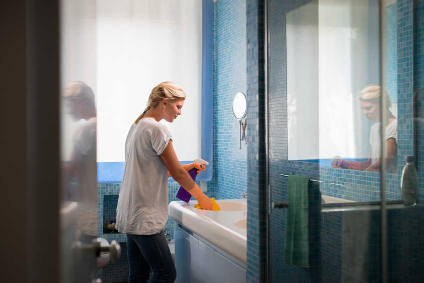 How to clean every surface in your bathroom