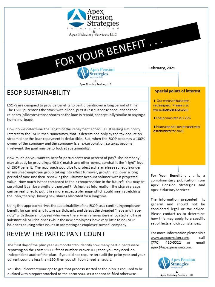 ESOP Sustainability