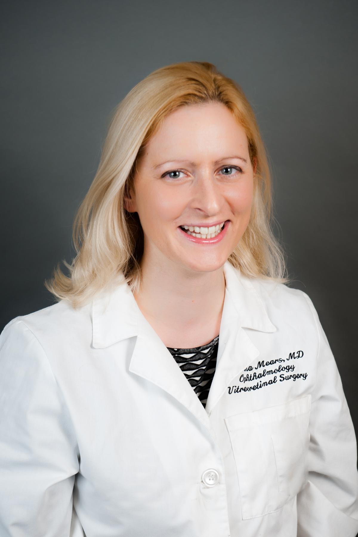Welcome Dr. Katrina A. Mears Our New Retina Surgeon!