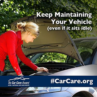 Keep Maintaining Your Vehicle Even If It Sits Idle