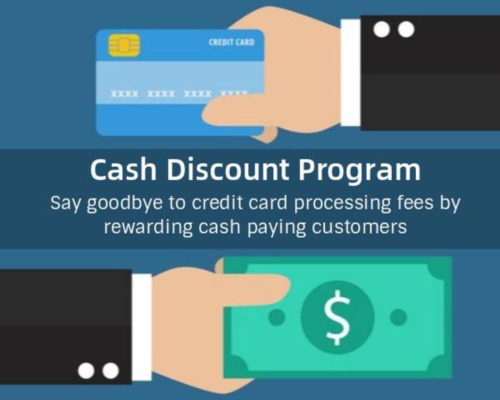 Cash Discount Agent Program