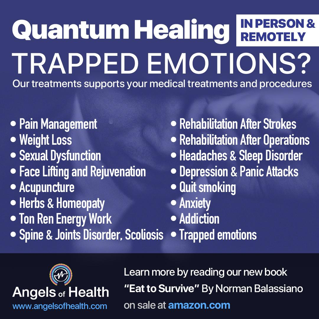 Treat your trapped emotions