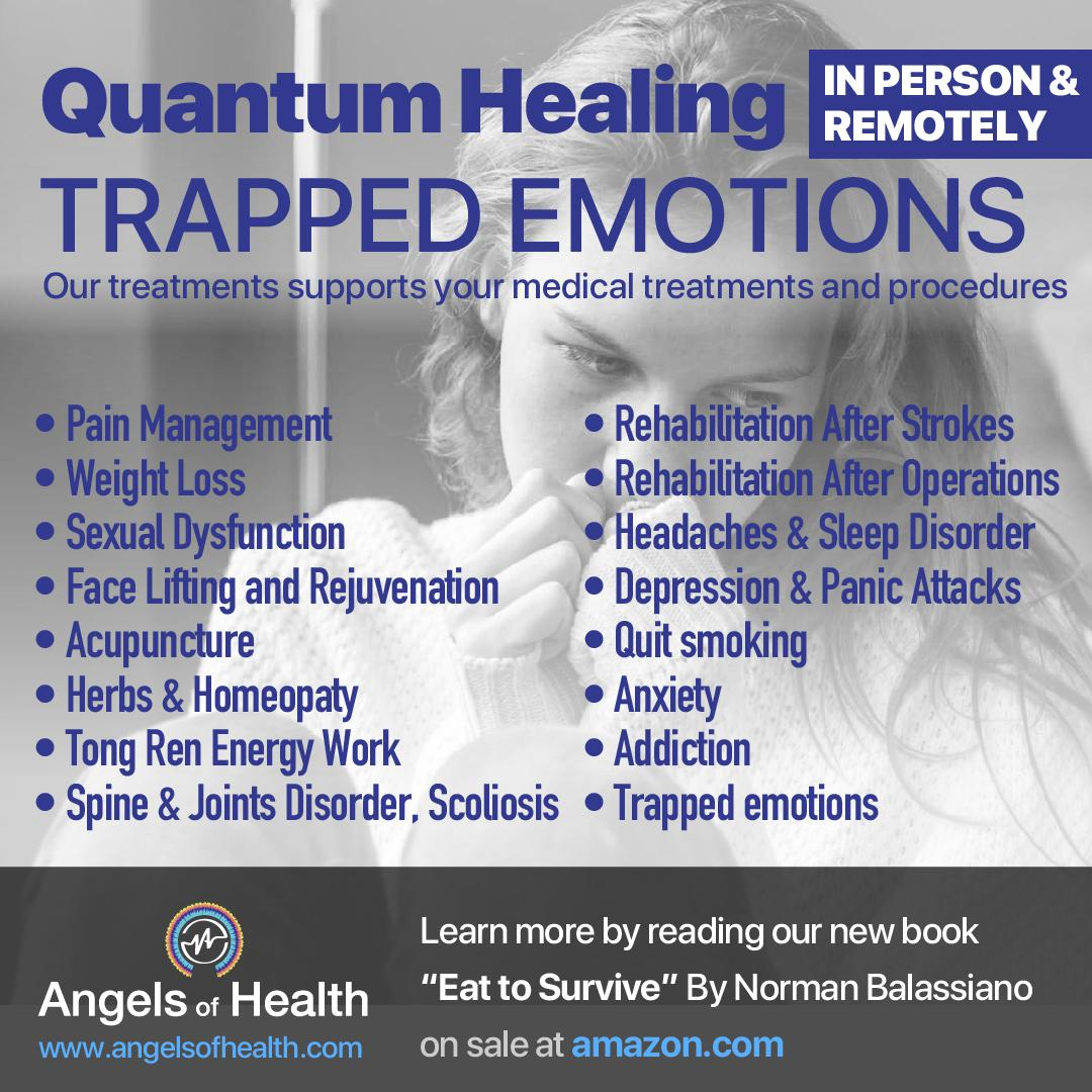 Trapped emotions