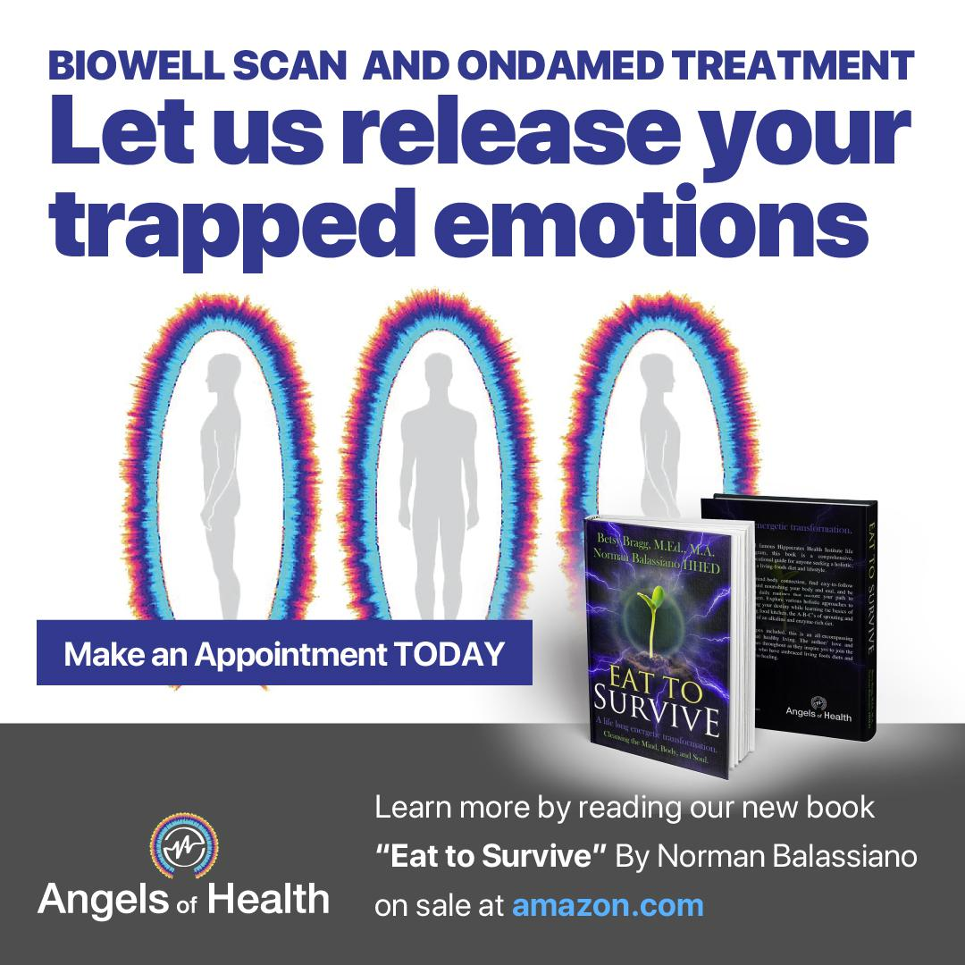 Let us release your trapped emotions