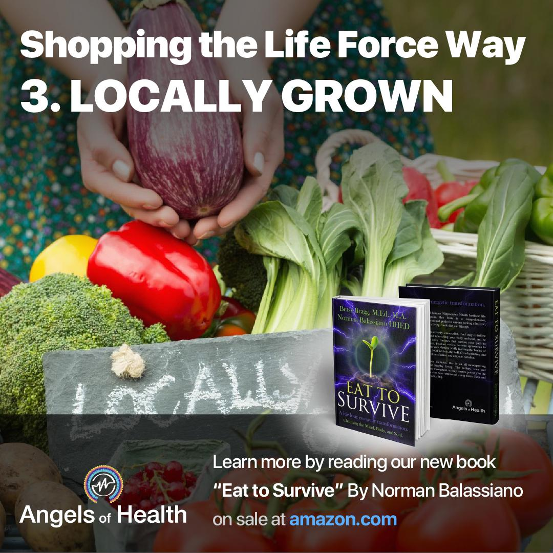 Shopping the Life Force Way: 3.Locally Grown
