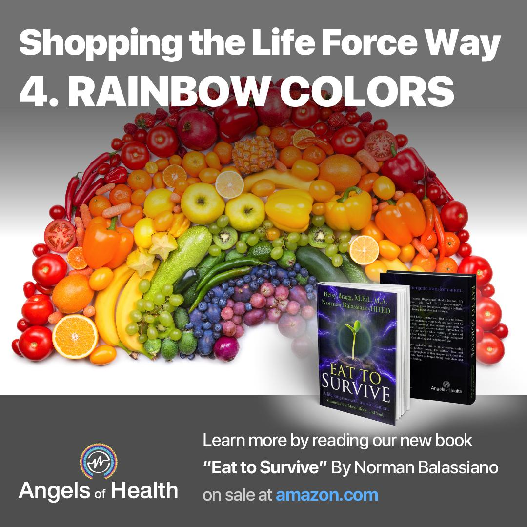 Shopping the Life Force Way: 4.Rainbow colors