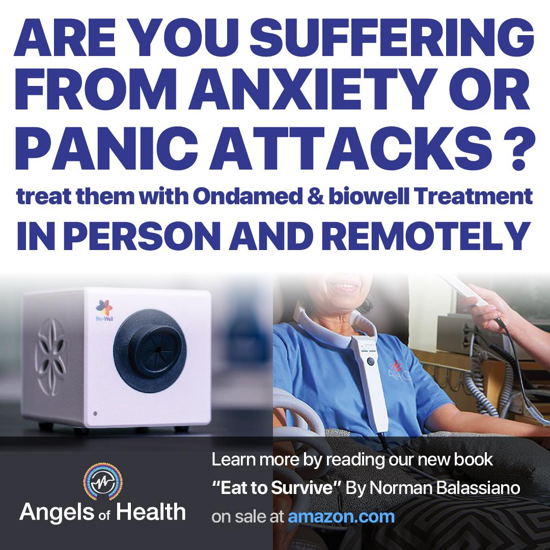 Are you suffering from anxiety or panic attacks?