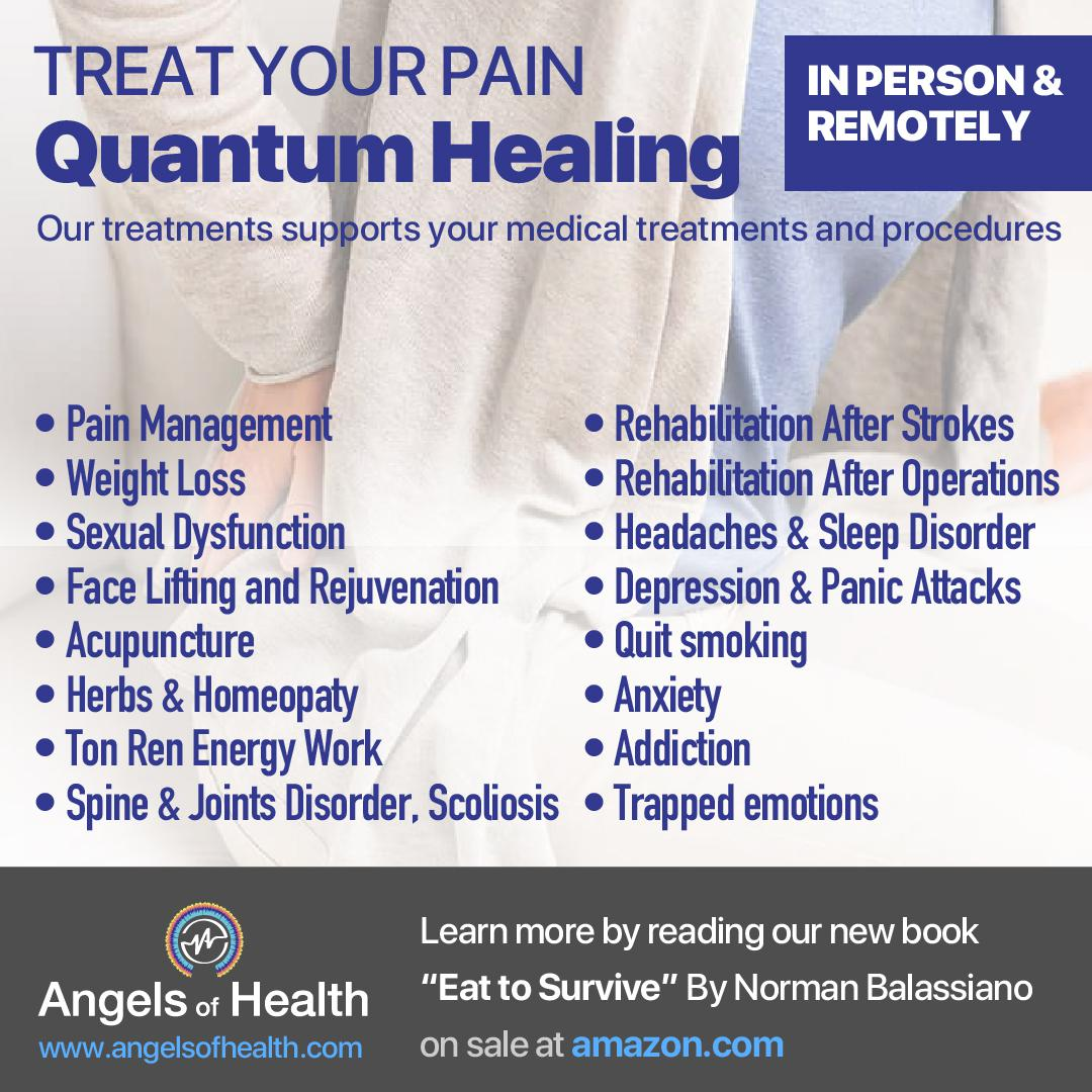 Treat your pain with quantum healing