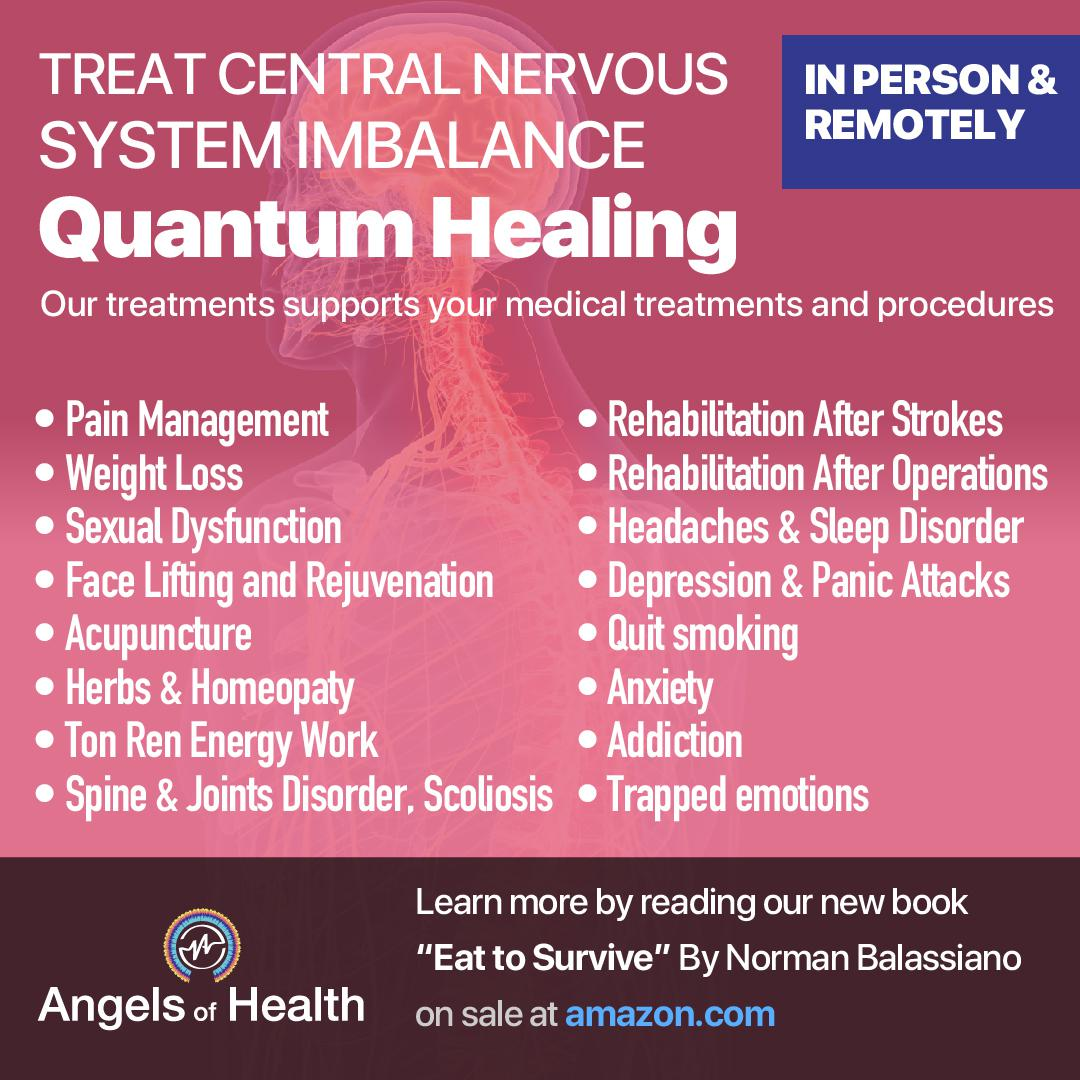 Treat central nervous system imbalance