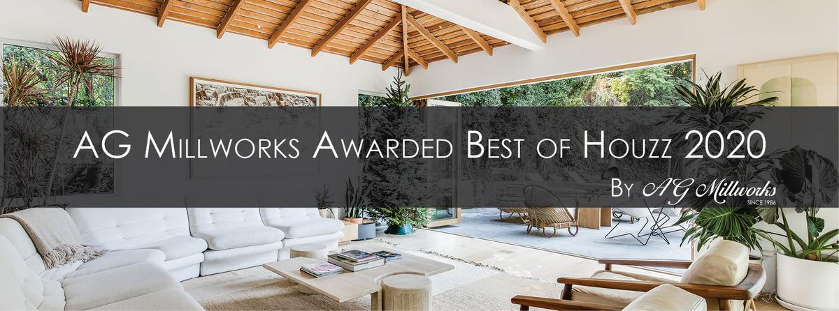 AG Millworks Awarded Best of Houzz 2020
