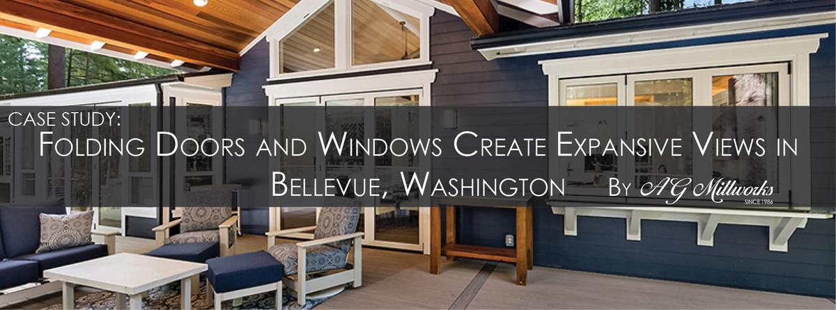 Case Study: Folding Doors and Windows Create Expansive Views in Bellevue, Washington