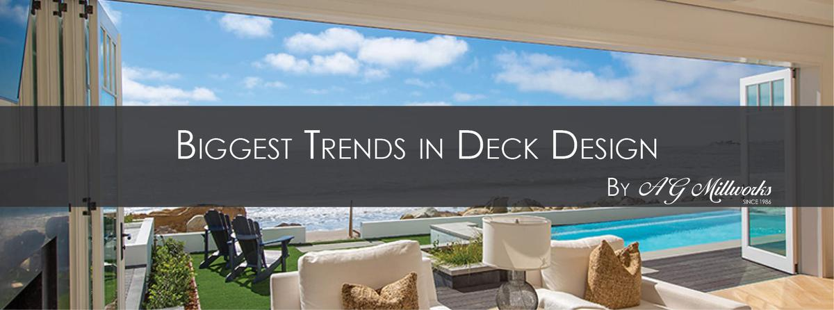 Biggest Trends in Deck Design