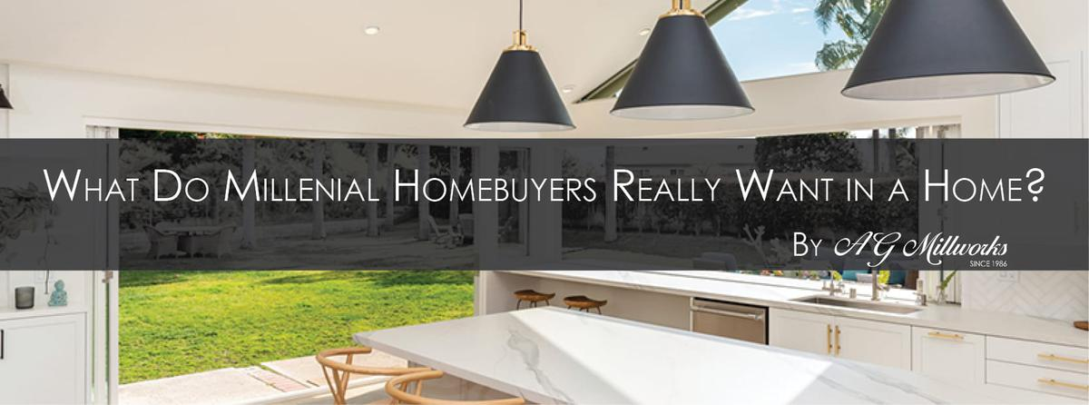 What Do Millennial Home Buyers Really Want in a Home?