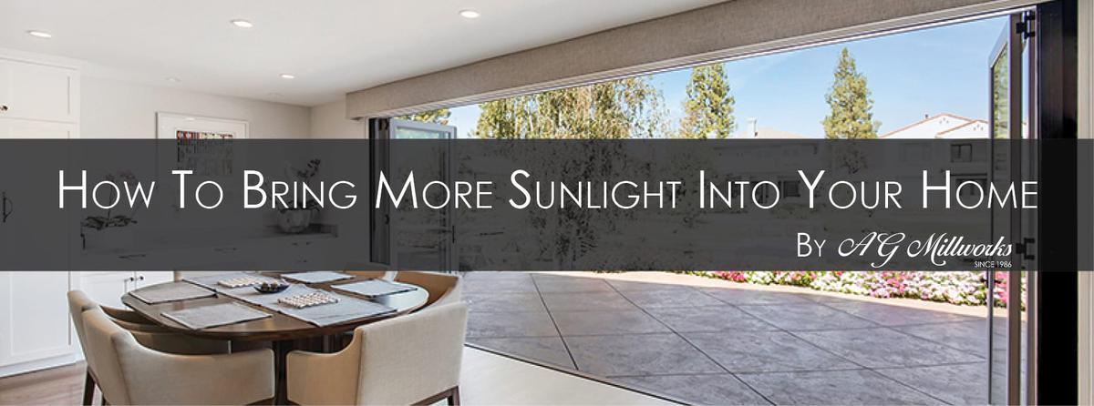 How to Bring More Sunlight into Your Home