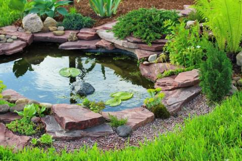Water Feature Make for a Serene Outdoor Focal Point